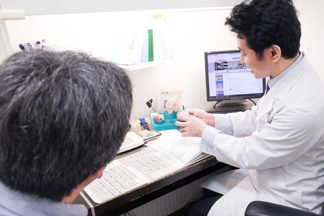 内分泌・甲状腺外来 診察の様子